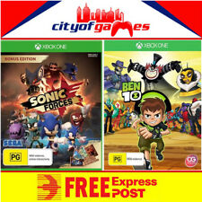 Ben 10 & Sonic Forces Bonus Edition Bundle Xbox One Game Free Express In Stock