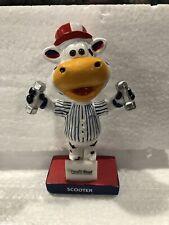 Staten Island Yankees Scooter Mascot Workout Mini Bobble NIB