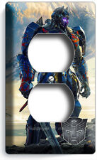 TRANSFORMERS AUTOBOTS OPTIMUS PRIME OUTLETS LIGHT SWITCH WALL PLATE COVER DECOR