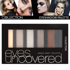 Collection Cosmetic Eyes Uncovered Highly Pigmented EyeShadow Palette Nude Grey
