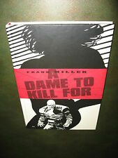 Frank Miller Sin City A Dame to Kill For! Near Mint! 1st Hardcover Edition!