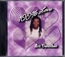 Reggae Roots Music Eric Donaldson 100 Percent Of Love RCCD1026 Sealed CD Album