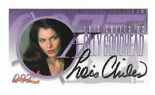 Lois Chiles SIGNED 1998 MOONRAKER MOVIE INKWORKS AUTOGRAPH CARD James Bond 007