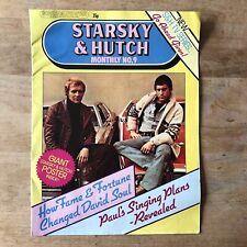 STARSKY & HUTCH MONTHLY POSTER MAGAZINE NO. 9 SCREEN SUPERSTAR