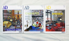 3 Hefte - AD ARCHITECTURAL DIGEST - Jahrgang 2009