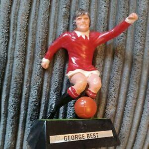 Vintage Rare Wembley Soccer Stars by Mettoy George Best 1970`s No7 in Man U Kit.