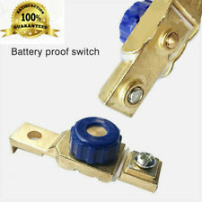 Car Motorcycle Disconnect Battery Cut Off Kill Zinc Terminal Anti-leakage Switch
