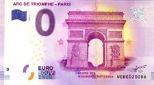 75008 Arc de Triomphe 2, 2018, Billet 0 € Souvenir