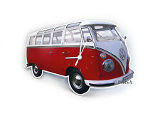 Camper Van Bus T1 Wall Clock Classic Volkswagen VW Collection by BRISA BUWC01