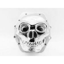 Hot Racing Axial SMT10 Chrome Metal Skull Diff Cover AR60 WRA12CT08