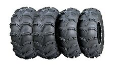 ITP MUD LITE XL ATV TIRE SET 28x10x12 and 28x12x12 (2 of each size) NEW MUDLITE