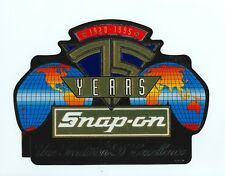 """NEW"" Vintage Snap-on Tools Tool Box Sticker Decal Man Cave 75th French SSX1878"