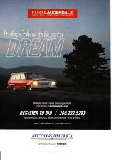 1968 JEEP WAGONEER ~ GREAT AUCTION AD