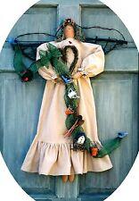 """#4598 30"""" Angel original cloth doll pattern by Bonnie B Buttons"""