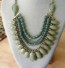 Lucky Brand Mint Collar Necklace MSRP $79