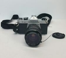 Asahi Pentax K1000 Camera 35mm SLR Camera Sigma Mini Zoom 35-85mm f/2.8-4 Lense