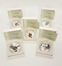 Cook Islands 2011Soyuzmultfilm Winnie-the-Pooh - 5 x 1 oz Silver Proof UC Coins