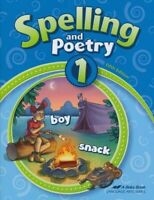Abeka Spelling and Poetry 1 (New Edition)