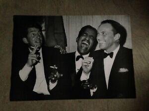 THE RAT PACK POSTER 23.5x33 Carnegie Hall 1965 Sinatra, Dean Martin, Sammy Davis
