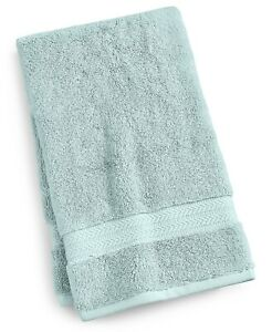 "Hotel Collection Finest Elegant Ice Blue 18"" X 30"" Hand Towel T410342"