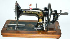 30's Frister & Rossmann TS Model K Hand Crank Sewing Machine PRISTINE!! [PL2868]