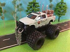 Dodge Ram 2015 ram 1500 national parks forest ranger truck wildlife warden 1/64