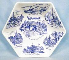 Vermont Souvenir Candy Dish Bowl Green Mountain State Ski Capitol Maple Syrup