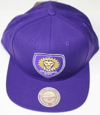 """Orlando City SC MLS Mitchell & Ness """"Team Solid"""" Snap Back Hat"""