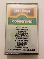Spectrum varios juegos Version Española Nuevo+SELLADO Chopper/Twidler/Shoot leer