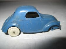DINKY TOYS SIMCA 5  VINTAGE ORIGINAL BLUE  Extremely Rare MECCANO made in FRANCE