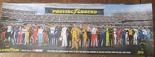 """POSTER 36"""" x 11 1/2"""" GOOD YEAR TIRE NASCAR DRIVERS 2016"""