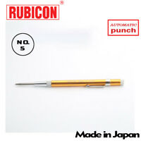 RUBICON No.5  Heavy Duty Power  Automatic Center Punch  5.7 in. Made in Japan