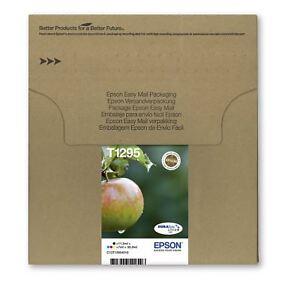 Original Epson T1295 Apple Durabrite Ultra Multipack Ink Cartridges C13T12954010