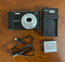 Sony Cybershot DSC-W800 Digital Camera - Black