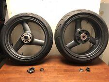 1998 Kawasaki Zx750 Wheel Set (Needs Tires)