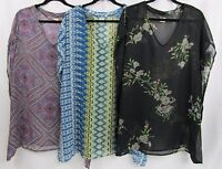 O'Neill Women's Lightweight Bali Printed Swim Cover Up (Choose Color/Size) *NWT*