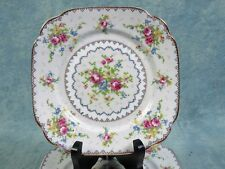 Royal Albert Vintage Petit Point Bone China Luncheon Salad Plate 1930's