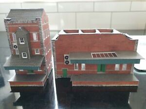PRE BUILT METCALFE  N SCALE Small Factory