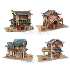 New China Flavor 4 puzzles inside 3D Puzzle Model Jigsaw World Style Series 7