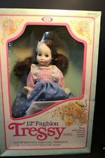 1983 Tressy Doll 12 Inch With Rollers to Perm Hair Still