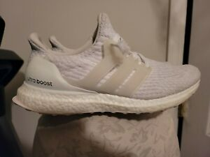 Adidas UltraBoost 4.0 Triple White Womens Size 8.5 Shoes Sneakers