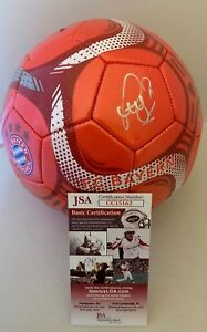 Bastian Schweinsteiger signed Red FC Bayern Munich F/S Soccer Ball Germany JSA