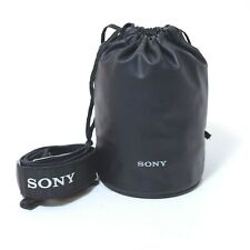 Sony Lens Pouch & Sony A7 Camera Camera Neck Strap in Excellent Condition - AUS