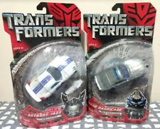 Transformers Movie 2007 Recon Grey Barricade Target Jazz Deluxe Class MOC Lot G1