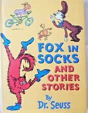 FOX IN SOCKS AND OTHER STORIES Hard Cover Dust Jacket DR SEUSS