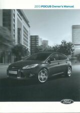 Focus Ford Car Owner & Operator Manuals