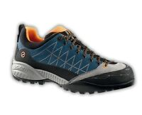 Scarpa Zen Lite GTX Men, Azure-Orange, Approach Trekking Risalita, Goretex
