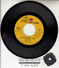 """FRANK SINATRA  Love's Been Good To Me  7"""" 45 rpm record + juke box title strip"""