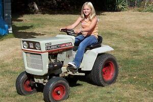 Vintage Bolens Husky 1254 Lawn Tractor  Fridge Refrigerator / Tool Box Magnet