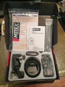 MITEX SITE SINGLE PACK UHF 5W LICENSED HANDHELD TWO WAY RADIO